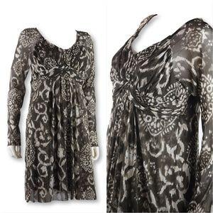 Sweet Pea high waist mesh dress Ikat L